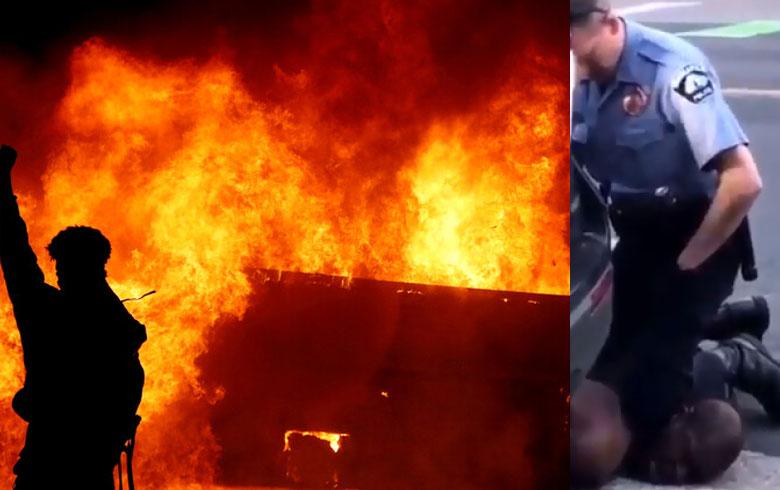 تصاعد الاحتجاجات وإجراءات مشددة بعد مقتل رجل من البشرة السوداء بطريقة وحشية