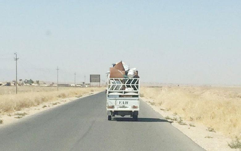 البيشمركة و الجيش يعيدان فتح طريق زمار سحيلا