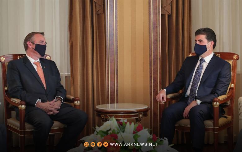 كوردستان تشكر هولندا عن الدعم والمساعدات التي قدمتها في الحرب ضد داعش