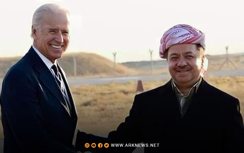 President Barzani sends a message to President Biden