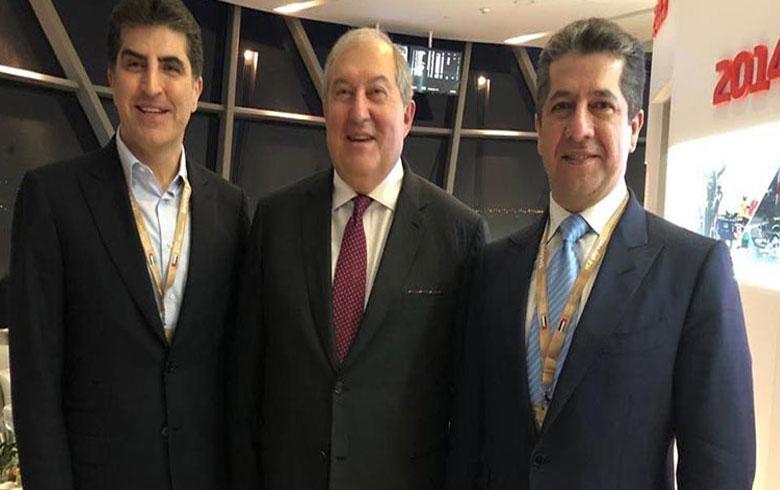 رئيسا إقليم وحكومة كوردستان يلتقيان زعماء خليجيين وعالميين في زيارة للإمارات