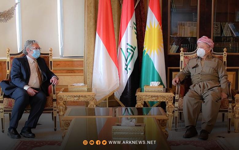 إندونيسيا تعلن عن رغبتها في توسيع العلاقات مع إقليم كوردستان