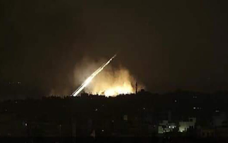 Israîl bi çend mûşekan xaka Sûriyê  armanc kir