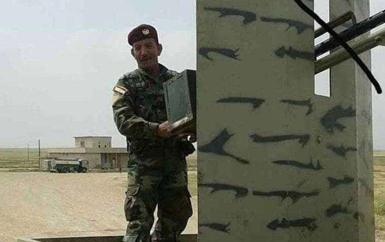 استشهاد البيشمركة عبدالمجيد حمى عبدو في سد الموصل
