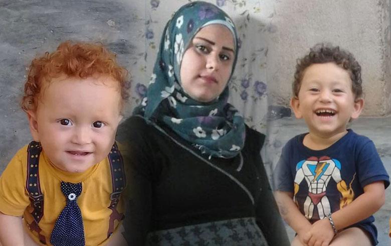 Efrîn .. Jineke Kurd bi 2 zarokên xwe, ji sal û 4 mehan ve revandî ye