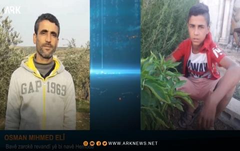 عثمان محمد: لم يكتفِ مسلحو الـPYD بخطف ابني, ويطالبونني بإحدى بناتي القصر