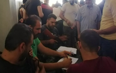 Implementation of Daraa al-Balad agreement on progress: 950 fighters and civilians strike new reconciliation, while regime forces establish five military posts