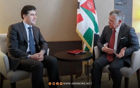 رئيس اقليم كوردستان سيزور المملكة الأردنية الهاشمية