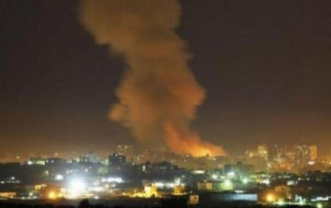 سماع دوي إنفجار بالقرب من مطار دمشق