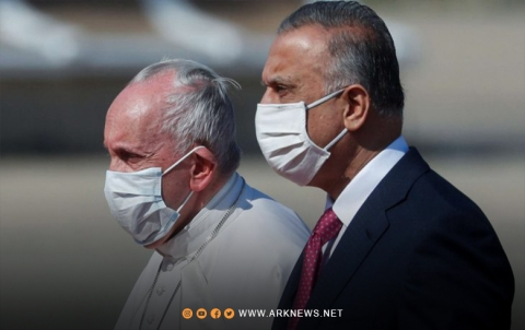 البابا فرنسيس يصل بغداد في أول زيارة باباوية للعراق