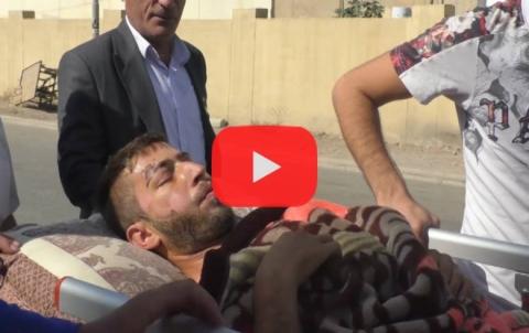 بالفيديو .. لاجئان یتعرضان لحادث سير والعائلة التي صدمتهما غير مكترثة للأمر