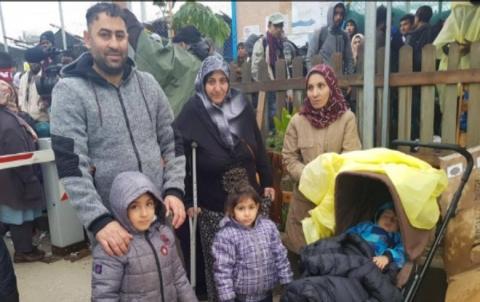 نقل الآلاف من طالبي اللجوء من الجزر اليونانية
