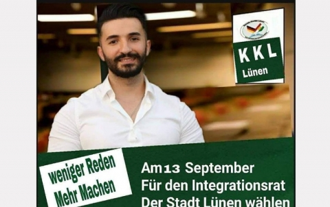 Kurdish candidate Dilyar Sheikhi wins a seat in the German city of Lunen