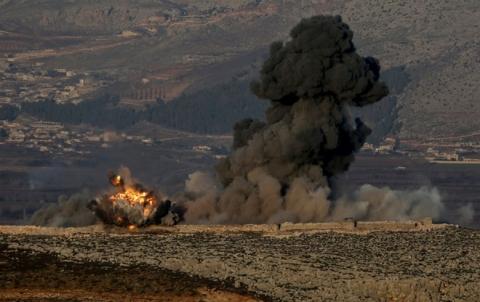 قصف متبادل بين PYD والفصائل المسلحة