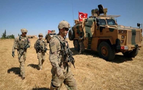 """Turkish forces expel workers in """"Allok"""" water station threatening to stop pumping potable water"""