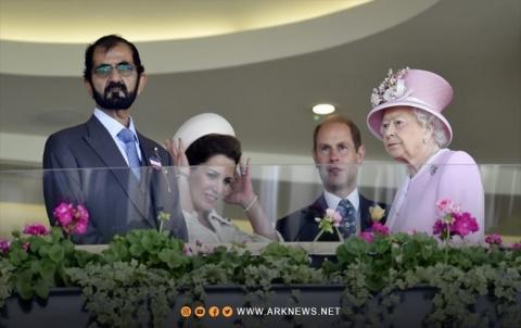 ملكة بريطانيا تلقت خيولا كهدايا من حاكم دبي بعد هروب زوجته الأميرة هيا