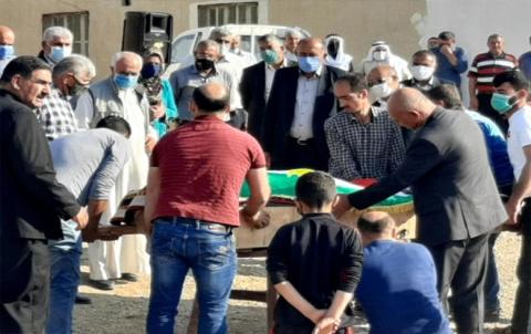 تشييع جثمان المناضل سيد يوسف سليمان إلى مثواه الأخير