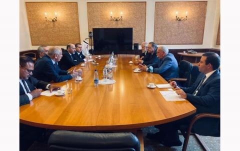 """تصريح """"جبهة"""" السلام والحرية بخصوص اللقاء مع وزارة الخارجية الروسية."""