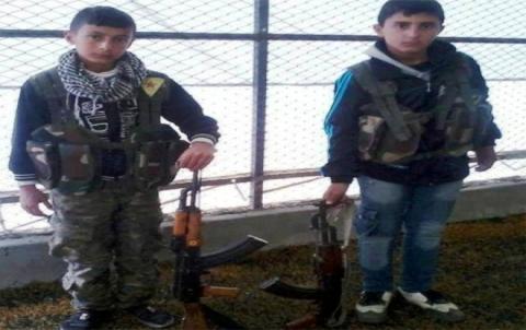 منظمة حقوق الإنسان : YPG  تجنّد الأطفال