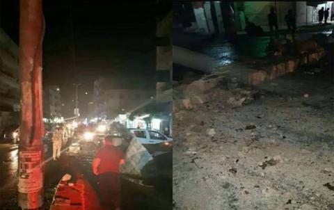 عفرين .. ضحايا بانفجار في مركز المدينة