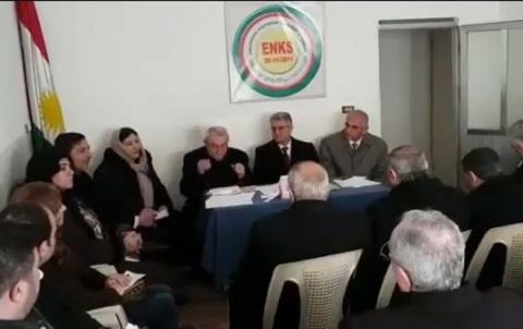 الامانة العامة للمجلس الوطني الكوردي في سوريا تجتمع في قامشلو