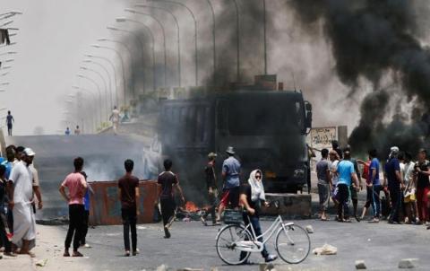 أمریکا تعلن دعمها للمظاهرات السلمیة فی العراق