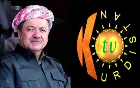 Serok Barzanî pîrozbahî di salvegera 22mîn damezrandina Kurdistan T.V de belav  kir