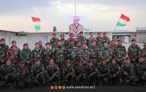Roj Peshmerga celebrates the forty-second anniversary of the departure of Barzani the immortal