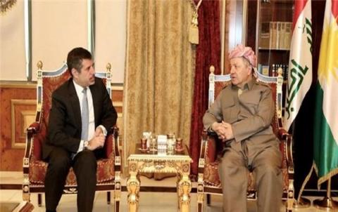 الرئيس بارزاني يستقبل القنصل الأمريكي في هولير