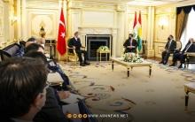 مسرور بارزاني وخلوصي آكار يؤكدان على أهمية تطبيق اتفاقية شنكال