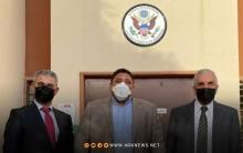 فحوى لقاء رئيس الـENKS مع ديفيد براونشتاين نائب المبعوث الأمريكي الخاص إلى سوريا