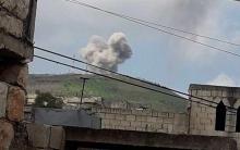 مقتل واصابە عدد من المدنیین   بقصف مدفعي للنظام على خان شيخون بإدلب