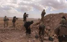 تنظيم الدولة يشن هجوما على مواقع قوات الأسد بريف ديرالزور