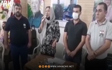 Fasla Youssef's speech at the funeral of the martyr Ismail Othman
