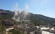 تقرير أولي لمركز توثيق الانتهاكات الكيميائية بسوريا يؤكد استهداف الكبينة بمواد سامة