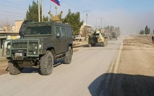 The continuation of Russian patrols on the Syrian-Turkish border
