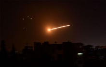 Israeli airstrikes on military targets in Syria