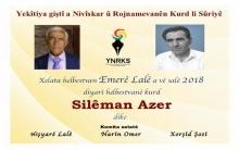 Omar La'le's award for the poet Suleiman Azer