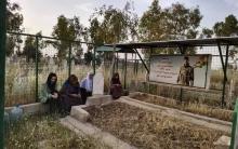 Kawergosik camp... The sixth annual commemoration of the martyrdom of the Peshmerga, Ramadan Hissy