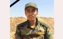 Six years after the martyrdom of the Peshmerga Ali Sheikhmous in the war against the terrorist ISIS