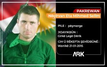 The sixth anniversary of the martyrdom of the Peshmerga Nichirvan Suleiman
