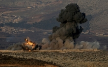 Mutual bombing between PYD and armed factions