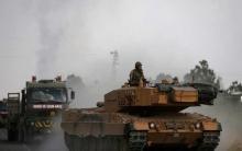 "35 Turkish military vehicles enter ""Putin-Erdogan"" area"