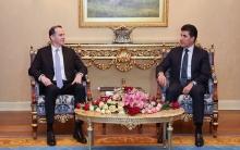 نێچيرڤان بارزاني ومكگورك يتباحثان حول العملية السياسية في العراق