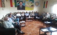 مجلس محلية الشهيد نصر الدين برهك يدين الهجمات الإرهابية التي يتعرض لها إقليم كوردستان