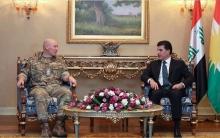 نيجيرفان بارزاني ووفد بريطاني يبحثان التطورات في كوردستان سوريا