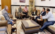 Duhok's  PDK-S organization honors the figures who helped the needy families in Fayida camp