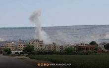 Mayînek li Efrînê teqiya