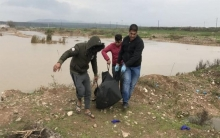 Turkish authorities picked up  the bodies of three Syrian women