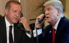 ترامب وأردوغان يؤكدان على ضرورة وقف إطلاق النار في سوريا